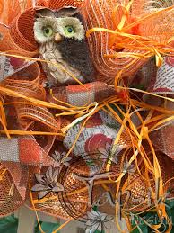 deco mesh fall wreath witch hat fall front door wreath