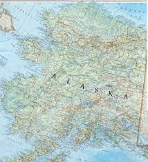 Alaska On The Map Carte Alaska Carte Alaska Pinterest Alaska