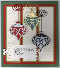 memory box ornament lovely card using memory box dies