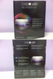cnd 3c led l nail dryers and uv led ls cnd led light l professional
