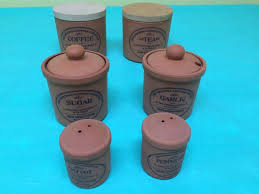 ebay kitchen canisters certified international kitchen canister set set of three