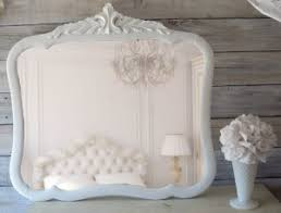 oval shabby chic mirrors home design ideas
