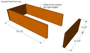 Free Wood Box Plans by Wood Tool Box Plans Free Garden Plans How To Build Garden Projects