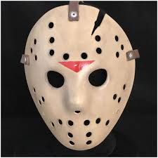 halloween face masks deluxe jason hockey mask part 6 mad about horror