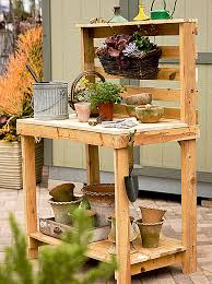10 free potting bench plans