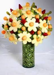 fruit flower arrangements fruits flower bouquet project ideas and craft ideas
