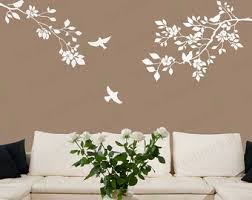 Large Wall Stickers For Living Room by Cherry Blossom Wall Decal Large Tree Branch Japanese Wall Art