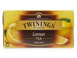black tea with lemon 25 envelopes