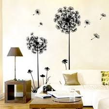 art on walls home decorating designer wall stickers deandelions
