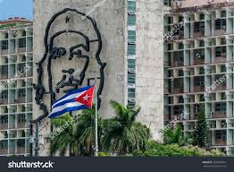 Che Guevara Flag Che Guevara Cuban Flag La Havana Stock Photo 298487054 Shutterstock