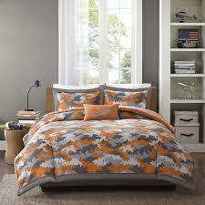 camo bedroom set mizone mikey comforter set