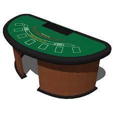 Black Jack Table by Black Jack Casino Table 3d Model Formfonts 3d Models U0026 Textures