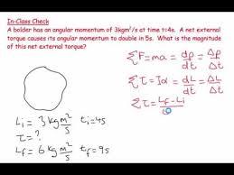 11 torque and rate of change of angular momentum 1