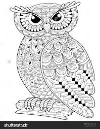 coloring page for adults owl printable owl picture owl printable coloring pages gallery free