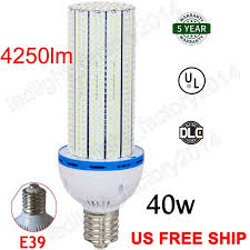 mogul base led light bulbs ship from usa warehouse 40watt 200 250 watt replacement e39 mogul