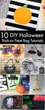 10 diy halloween trick or treat bag tutorials halloween bag a
