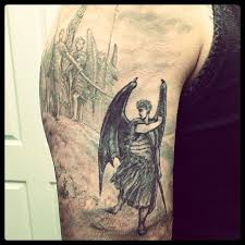 100 angel and devil tattoo classic devil and angel tattoo