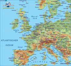 Latin America Physical Map Maps Map Of Europe Highways