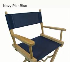 Navy Blue Outdoor Furniture Covers - phifertex plus mesh replacement cover set for directors chair