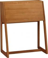 Small Brown Desk Desks Small Spaces Foter