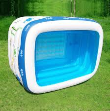 si e de bain pour b écologique marque épaissie pvc portable air baignoire grande taille