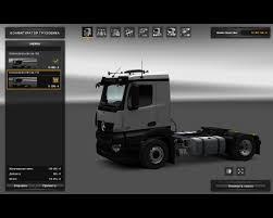 mercedes truck 2016 mercedes benz antos v1 23 ets2 mods