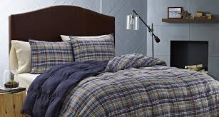 Twin Plaid Comforter Amazon Com Eddie Bauer Rugged Plaid Comforter Set Full Queen