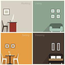home interior vector model home interior clip vector images illustrations istock