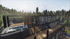 nauta home designs contemporary container house in muskoka youtube