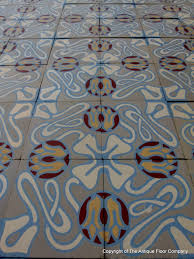 14 5m2 antique ceramic art nouveau floor c 1900 1925 the antique