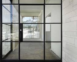 doors with glass windows hardscaping 101 steel factory style windows and doors gardenista