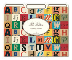 cavallini file folders cavallini file folders alphabet 12 heavyweight file folders per