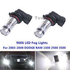 2008 dodge ram 1500 led fog lights 100w 9006 led fog lights l 6000k for 2003 2008 dodge ram 1500