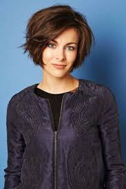 how to style chin length layered hair layered bobs for fine hair chin length oltre 1000 idee su modele