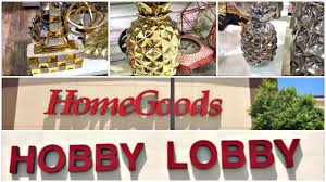 what u0027s new at homegoods and hobby lobby shop with me youtube