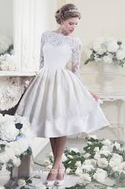 wedding dress sle sale london buy lovely illusion lace scoop a line knee length sleeve