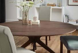 round walnut dining table buy serene waltham walnut dining table 180cm oval fixed top online
