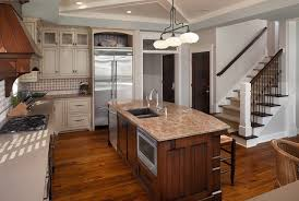 pictures of kitchen islands with sinks island sink and dishwasher houzz