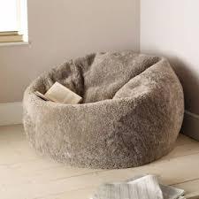 sheepskin bean bag