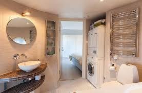 Modern Tile Bathroom - modern laundry room interior design ideas