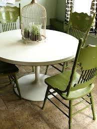 kitchen table painted table and chairs how to refurbish kitchen