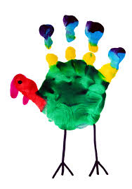 handprint turkey clipart clipartxtras