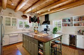 Rustic Kitchen Countertops by 35 Beautiful Rustic Kitchens Design Ideas Designing Idea