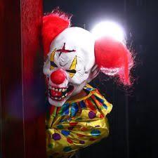 Scary Clown Halloween Costume Scary Clown Mask Ebay