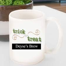 halloween coffee mug personalized halloween coffee mugs