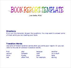 report third grade format