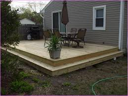 Wooden Decks And Patios Best 25 Ground Level Ideas On Pinterest Ground Level Deck How