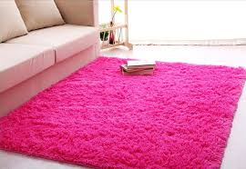 Pink Area Rug Forever Lover Soft Indoor Morden Shaggy Area Rug Pad