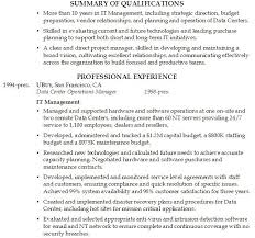 Resume Summary Ideas Summary On Resume Example Professional Summary Examples