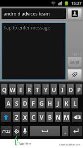 android change keyboard how to change input languages android keypad settings while
